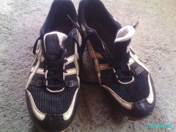陪伴多年的戰鞋asics