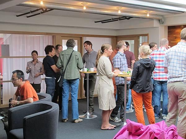 Fjallraven sales meeting-3. 會議休息室午餐.JPG