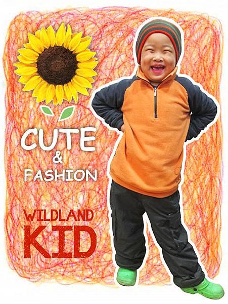 Wildland荒野兒童褲款,讓小朋友「龍冬」搶搶滾!