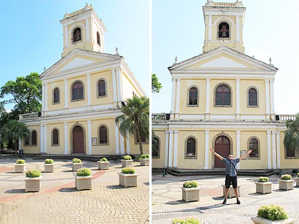 12.[小店員趴趴走] 三天兩夜澳門自由行!Macau就是拍照吃不停~(上)--嘉模聖母堂