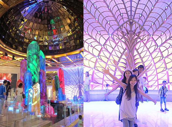 13.[小店員趴趴走] 三天兩夜澳門自由行!Macau就是拍照吃不停~(上)美美的飯店大廳