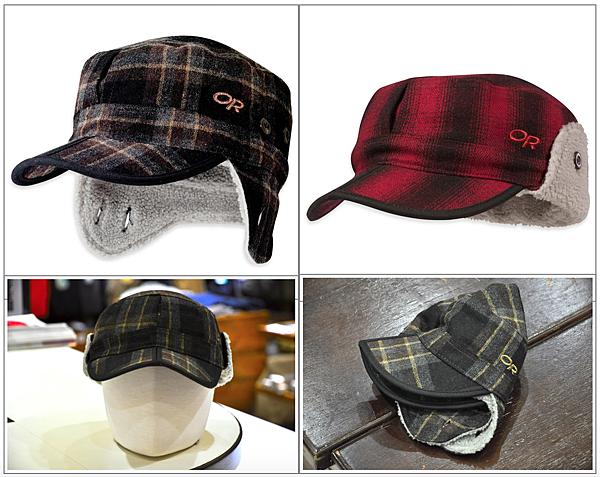 Outdoor Research 86165 Yukon Cap 羊毛混紡透氣護耳保暖帽.png
