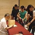 簽書會:簽到書很高興吼~~