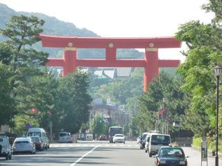 2011.9.27 平安神宮前鳥居 (1).JPG