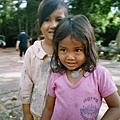 近距離的柬埔寨羅莉照