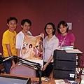 2000年時與megu等人上吳建恆的今夜星辰節目