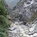 從白楊步道另側看切割峽谷