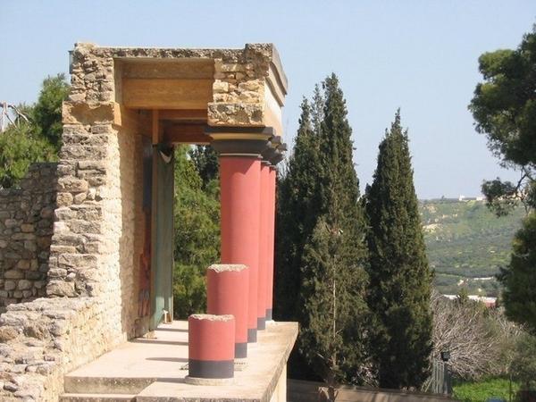 米諾安遺跡神殿