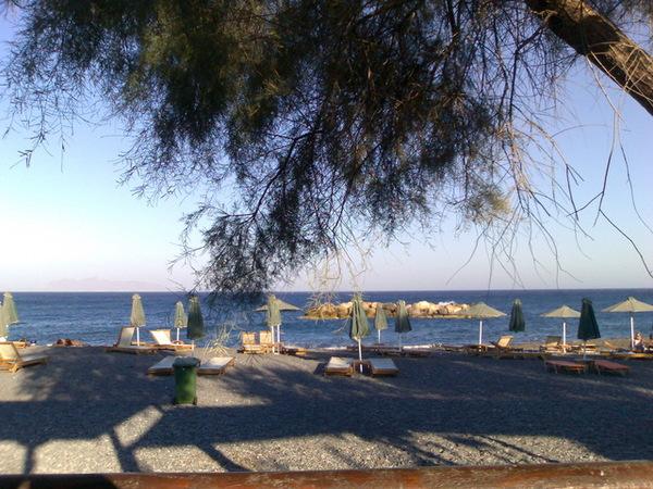 kamari海灘