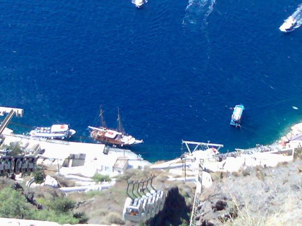 Fira的舊港口
