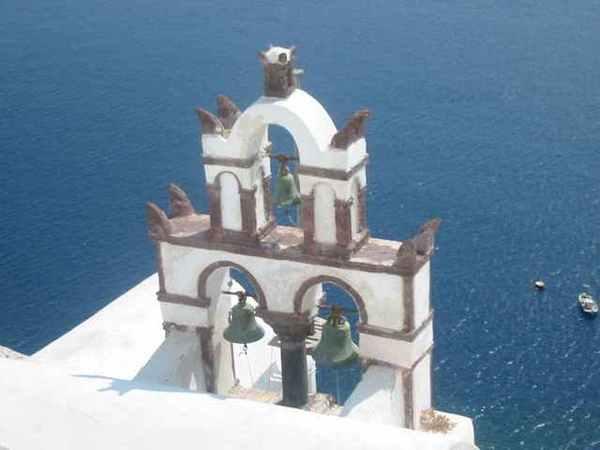 oia教堂的鐘