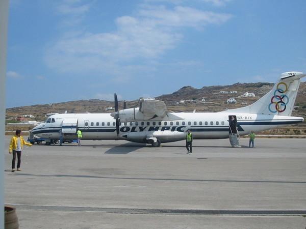 希臘奧林匹克航空的小飛機