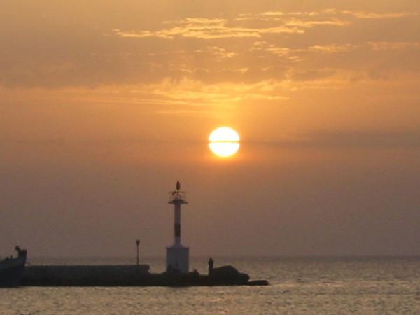 米克諾斯舊港口黃昏