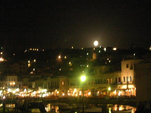 入夜的城鎮