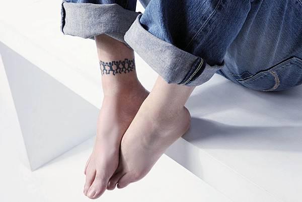 藏拙內頁照片  我的刺青特寫