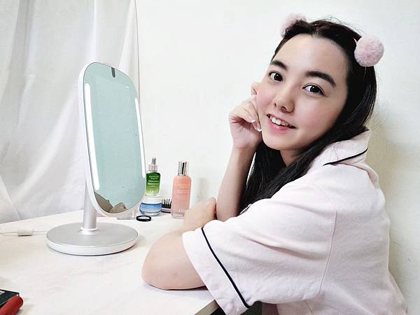 HiMirror Mini迷你姬 智慧肌膚檢測魔鏡 保養 肌膚檢測 有效 推薦