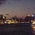 上海黃埔江夜景