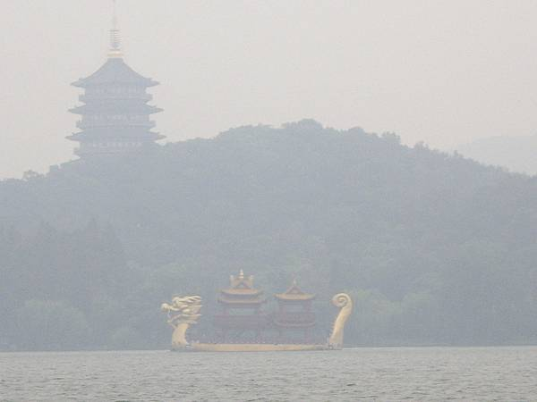 杭州西湖龍船