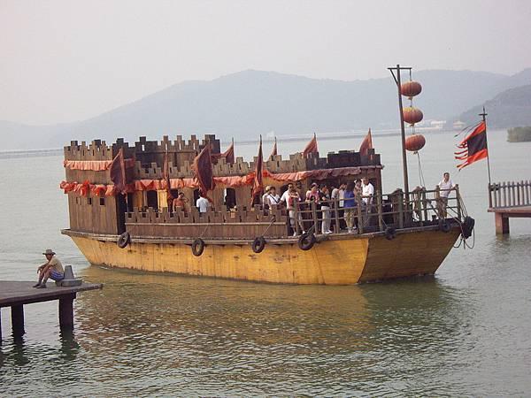 蘇州三國影城戰船