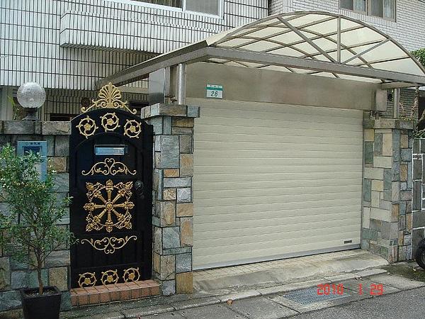靖勝企業社鋁合金捲門03