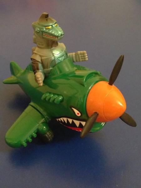 ゴジラ キャラクティックス メカゴジラ 飛行機 Bemon Zollmen