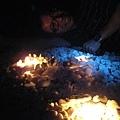 壽星與光明燈(?)