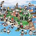 綠島MAP