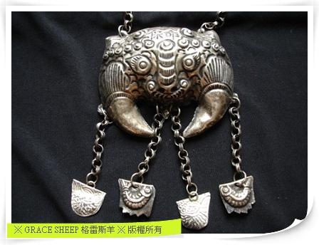 牛頭項鍊墜