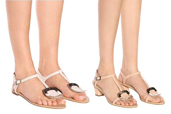 roger vivier chip sandals