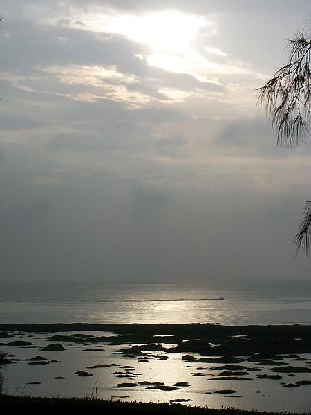 淺水灣-下大雨,卻還是很美