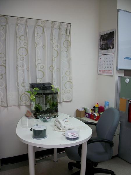 阿雯的辦公室-入口還養魚!