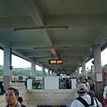 坐了一夜的火車, 5:55 到達了台東火車站