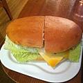 晚餐雞肉三明治