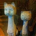 貓空站旁邊某家茶店前的裝飾