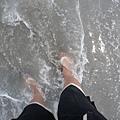 花蓮的海水真的超乾淨的