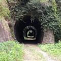福住隧道旁的連續三隧道
