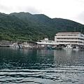 綠島的南寮漁港