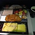 飛機上的第三餐,應該是早餐??@@
