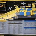 阿姆斯特丹機場地圖,也是很大,錯綜複雜