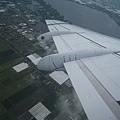 飛機上看阿姆斯特丹
