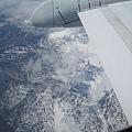 可以看到山上的雪