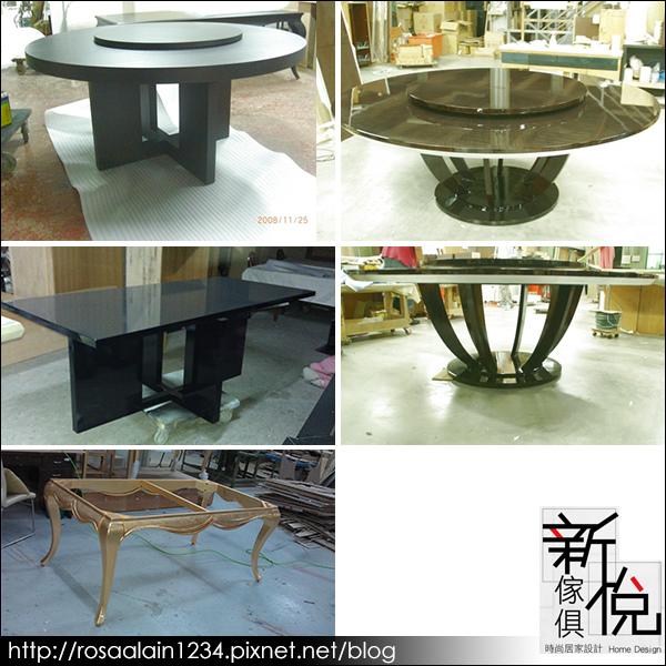 新悅家具廠-鋼烤系列-餐桌餐椅-3
