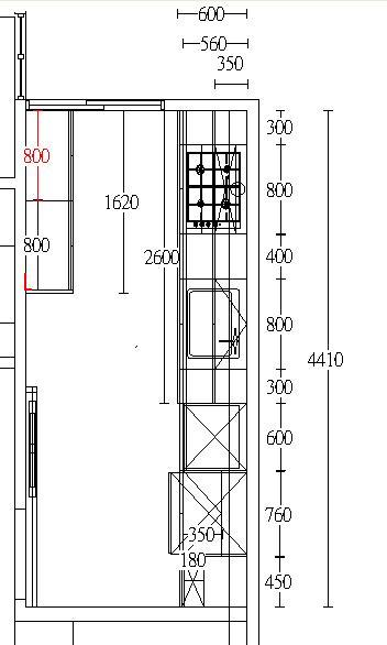 廚房平面施工圖.jpg新悅3d家具訂製達人,台北家具工廠案例