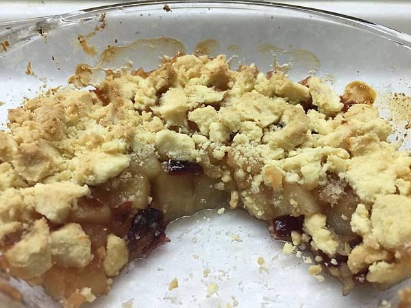 蘋果烤酥餅碎