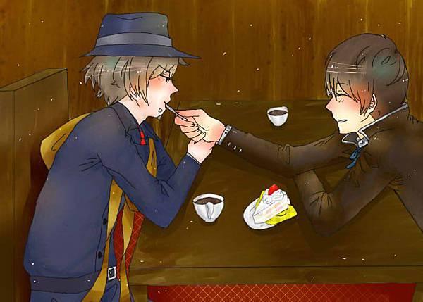 草莓蛋糕/繪:山貓咪