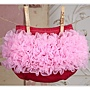Candy Pink on Feng Shui Red Ruffle Diaper Cover... Ruffle Bloomer...Ruffle Bum Cover.jpg