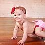 Candy Pink on Feng Shui Red Ruffle Diaper Cover... Ruffle Bloomer...Ruffle Bum Cover 1.jpg