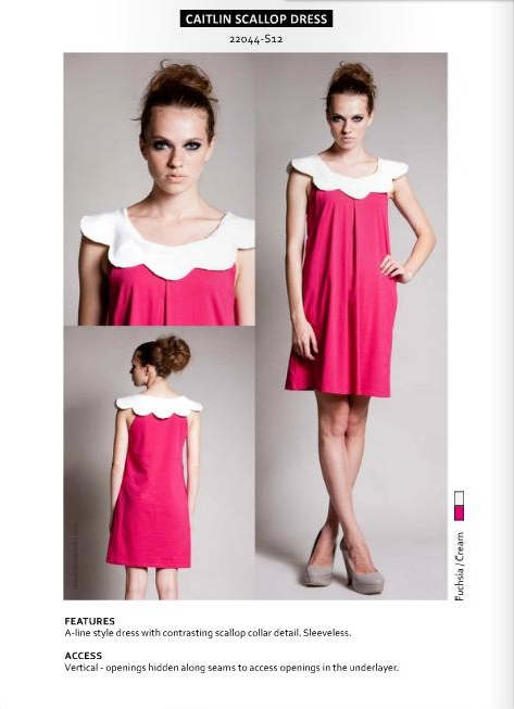 caitlin scallop dress-1
