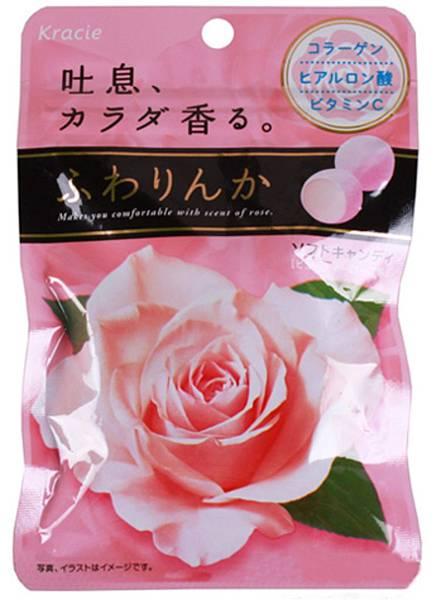 佳麗寶Kracie玫瑰花香軟糖