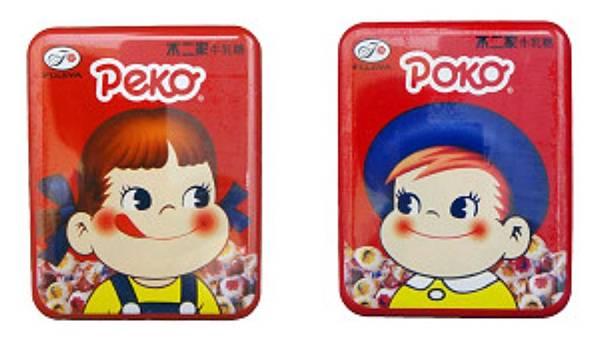 不二家Peko/Poko經典方罐牛奶糖